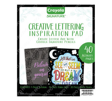 Signature Creative Lettering Front cover