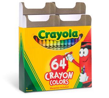 The Crayola Custom 64 Crayon Box