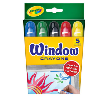 Window Crayons