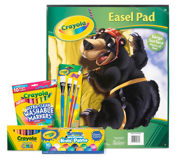 Easel Supplies Kit