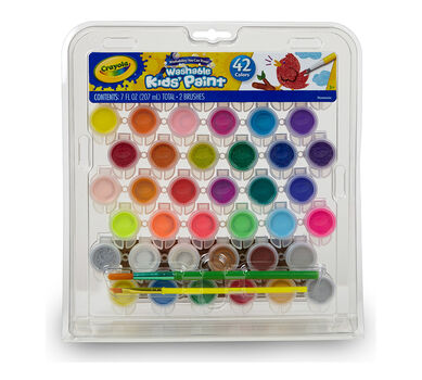 Washable Kids Paint 42 Count