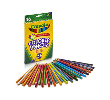 Colored Pencils, Long 36 ct.