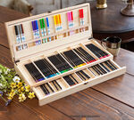 Color Escapes Wooden Art Case