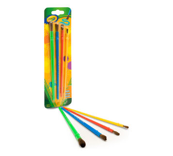 4 ct Paint Brushes