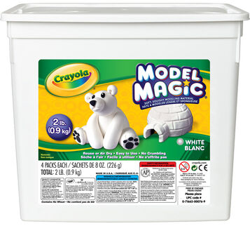 Model Magic 2 lb. Resealable Bucket - White