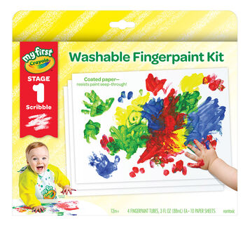 My First Washable Fingerpaint Kit