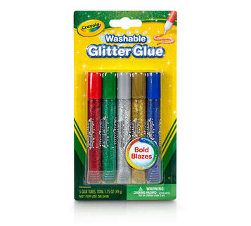 Washable Glitter Glue, Bold 5 ct.