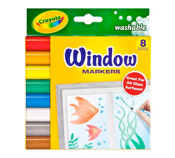 Washable Window Markers 8 ct.