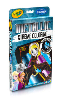 Frozen Xtreme Coloring - Metallic