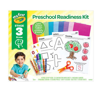 My First Preschool Readiness Kit front of package