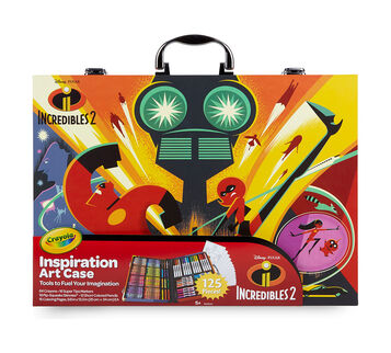 Incredibles 2 Inspiration Art Case Front