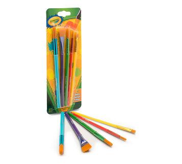 5 ct Arts & Crafts Brushes