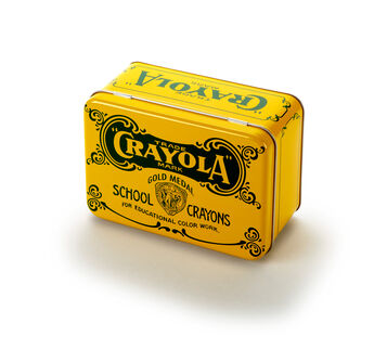 Crayola Vintage Crayon Storage Tin