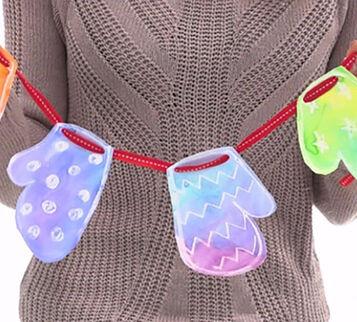 DIY Garland Winter Craft Kit