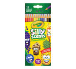 Silly Scents Colored Pencils 12 count front cover