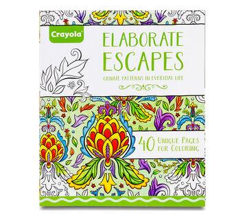 Elaborate Escapes Coloring Book