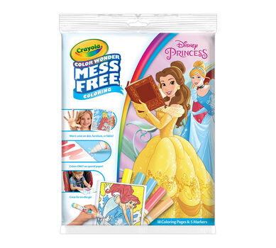 Color Wonder Coloring Pad & Markers, Disney Princess