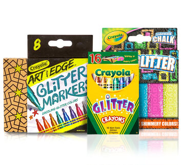Stocking Stuffer Set– Glitter Art Supplies