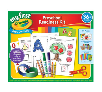 My First Crayola Preschool Ready Kit