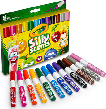 Silly Scents Wedge Tip Scented Washable Markers 12 ct.