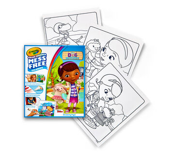 Color Wonder Coloring Pad - Doc McStuffins