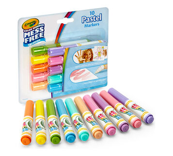 Color Wonder Mini Markers 10ct - Pastel
