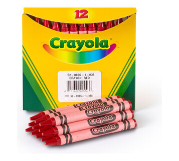12 count Bulk Crayons, Regular-Choose Your Own Color