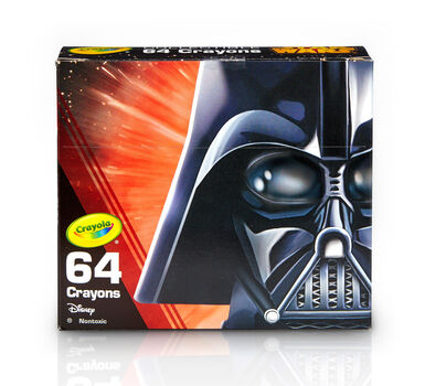Star Wars, Darth Vader 64 Count Crayon Box