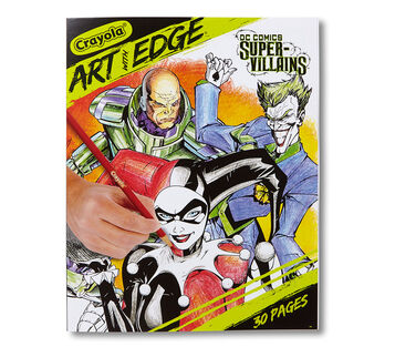 Art With Edge DC Villains Front Cover