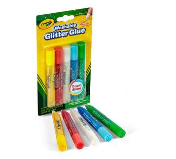 Super Sparkle Washable Glitter Glue 5 ct.