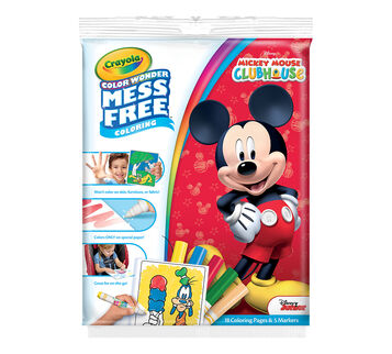 Color Wonder Coloring Pad and Markers, Mickey Mouse Clubhouse