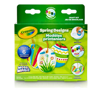 Model Magic Springtime Crafts