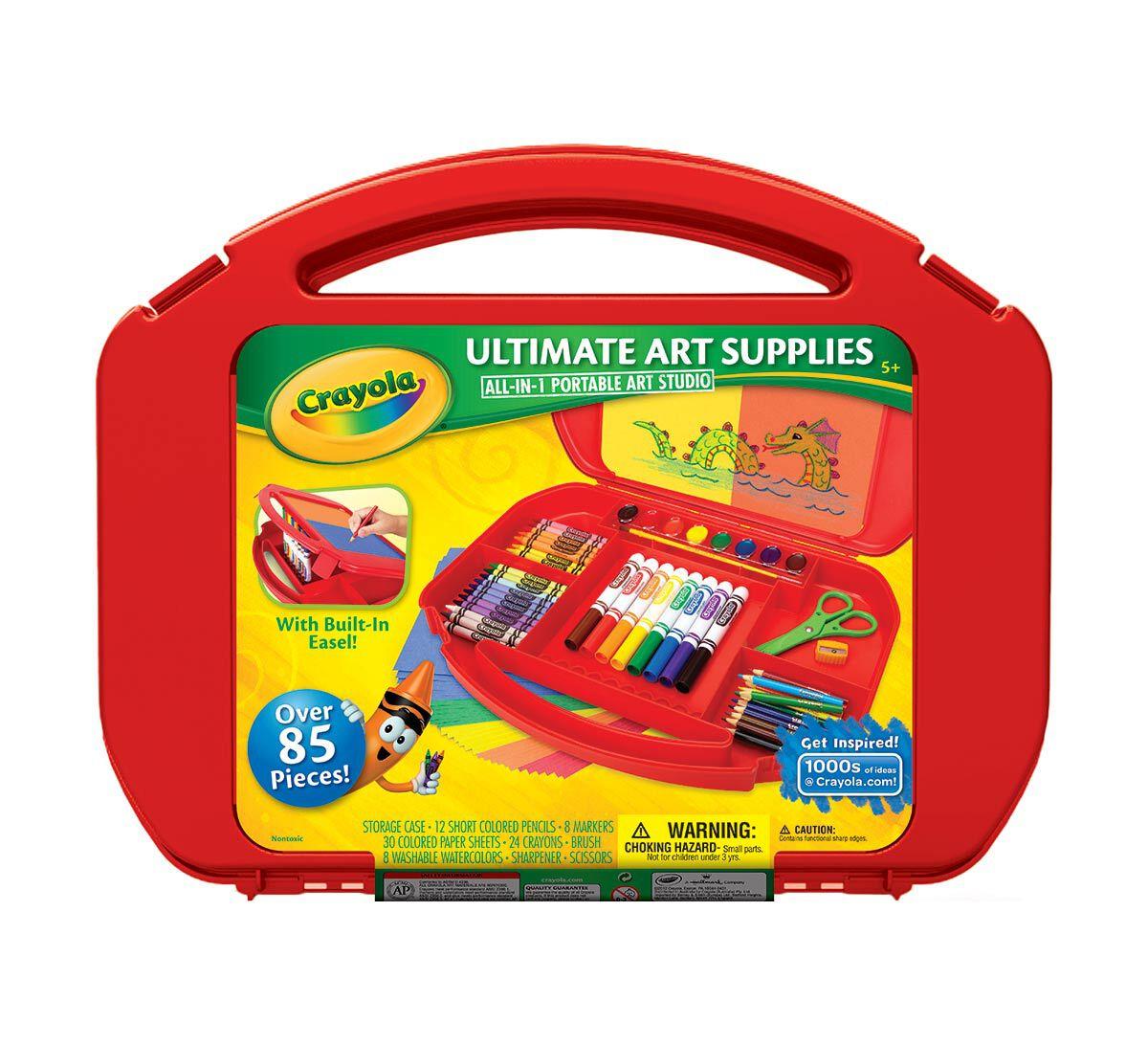 Crayola Ultimate Art Supplies & Easel 04-5674