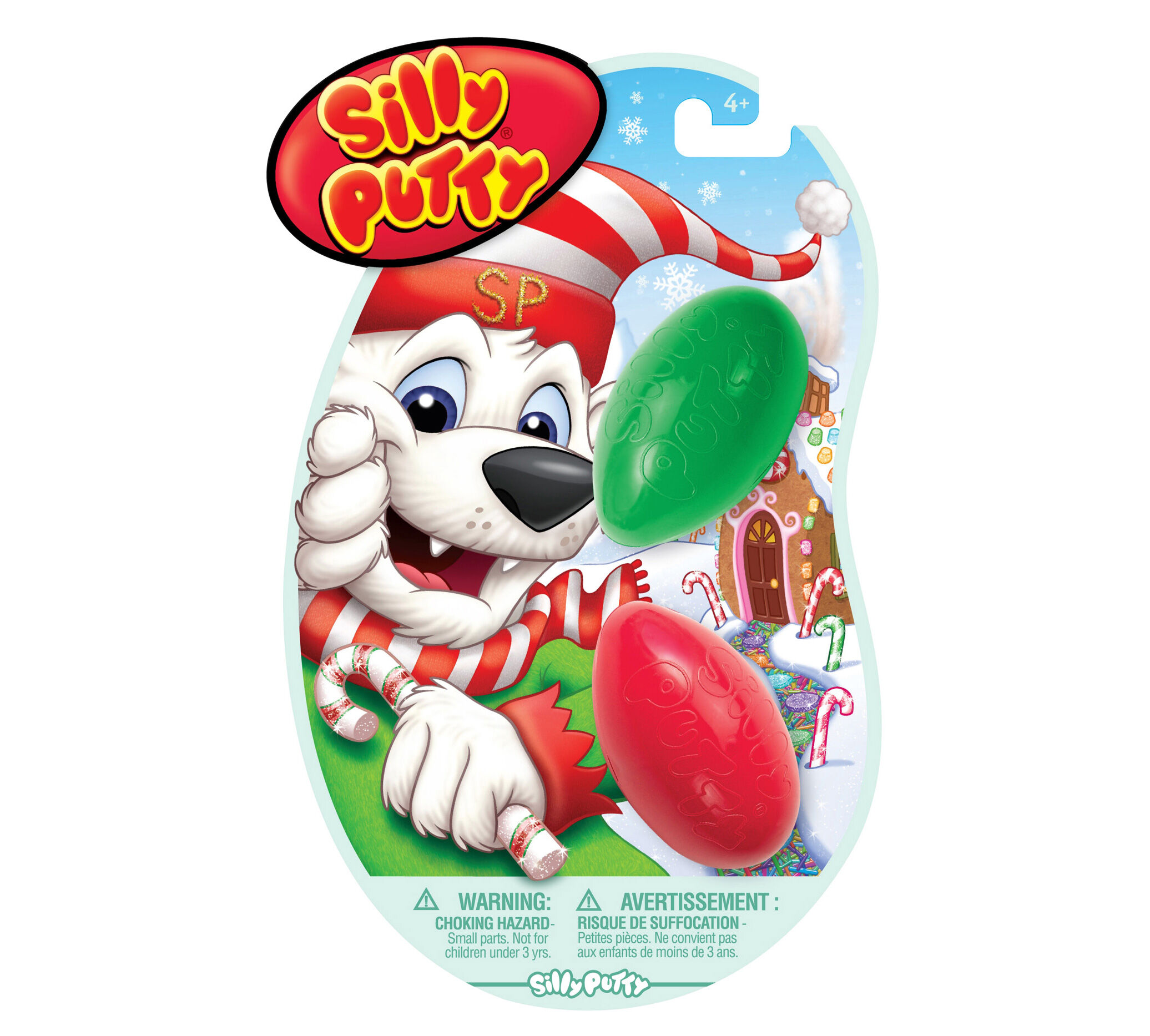Crayola Silly Putty Holiday Pack 2 Ct. 08-0320
