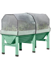 VegTrug™ Patio Garden with Covers, Robin Egg Blue