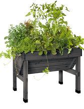Compact VegTrug™ Patio Garden, Charcoal
