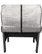 Compact VegTrug™ Patio Garden with Covers, Charcoal