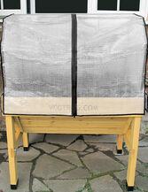 Compact VegTrug™ Patio Garden with Covers