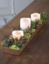 "Rectangular Plant Tray, 18"" x 4"""
