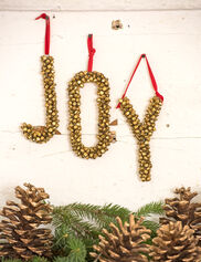 Jingle Bell JOY Letters Ornament