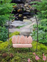 Fairy Garden Arbor and Bench