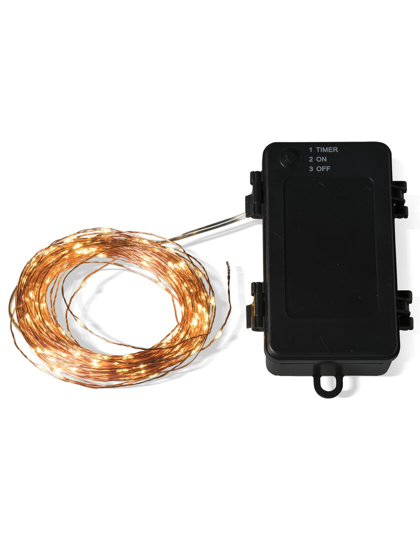 Fairy Lights On Copper Wire 5 10 Or 50 Battery