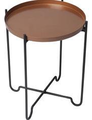 """Copper-Finish Plant Stand, 15"""" x 20"""""""