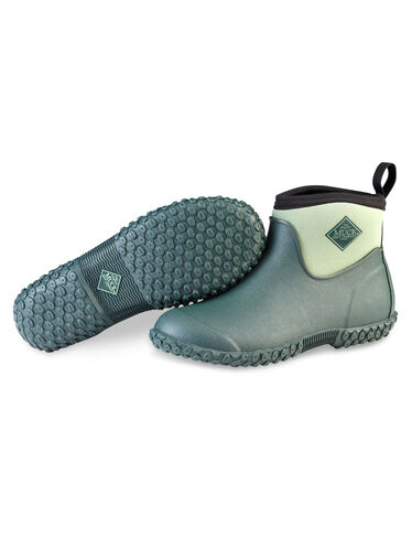 Gardening Boots Waterproof Pull On Ankle Boots Womens