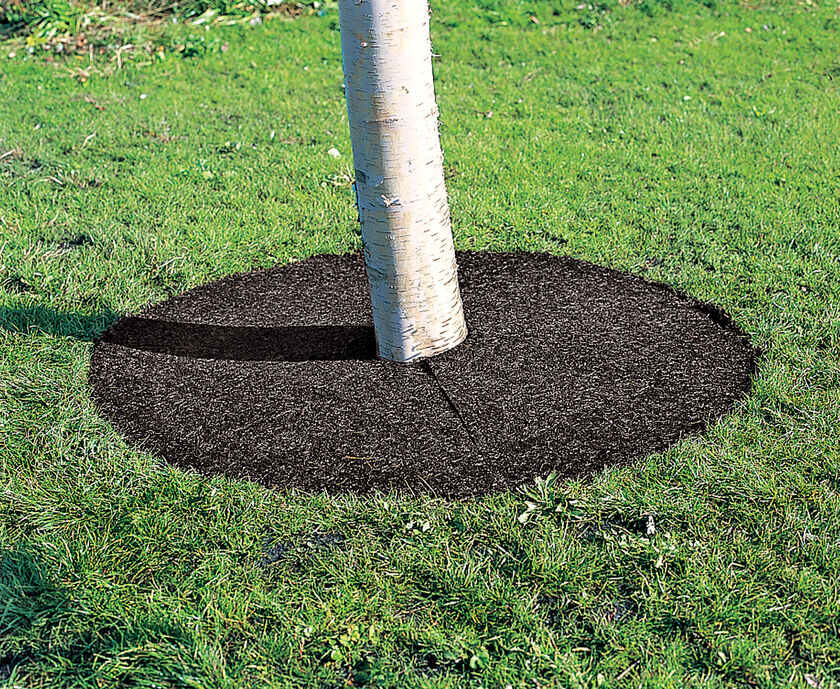Recycled Rubber Tree Ring 36 Inch Gardeners Com