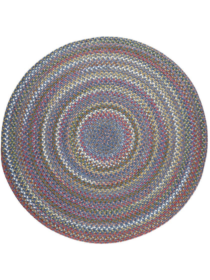 Round Braided Rugs Round Country Jewel Braided Rug 6