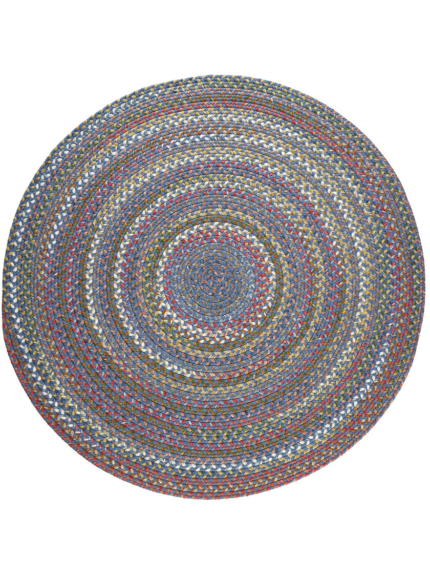 Round braided rugs round country jewel braided rug 639 for Braided rugs