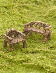 Woodland Miniature Furniture Set