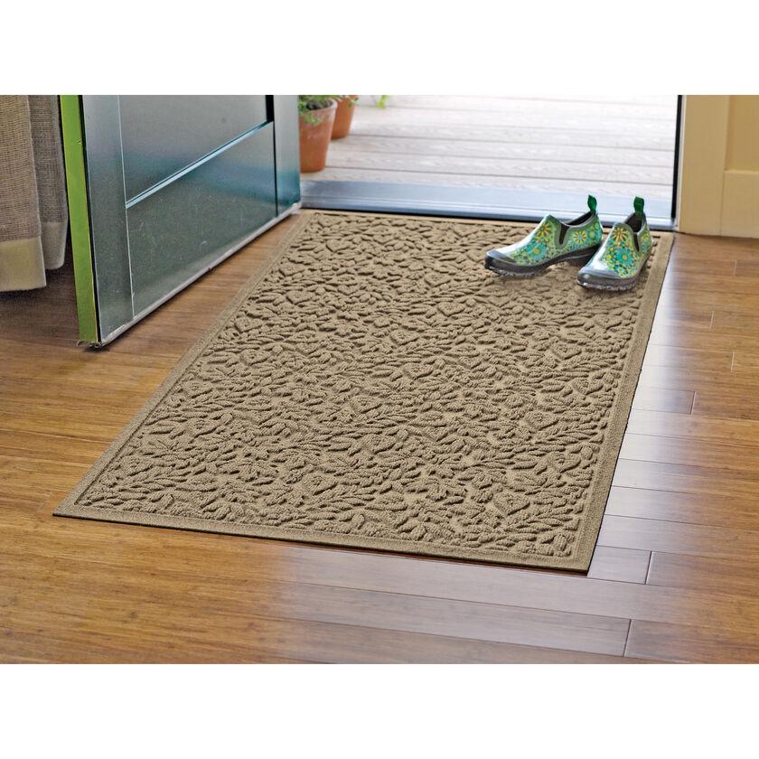 35x58 water glutton doormats door mats gardener 39 s supply for Indoor front door mat