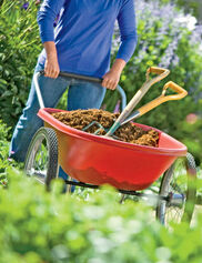 Poly-Tough Cart: a Two-Wheel Wheelbarrow